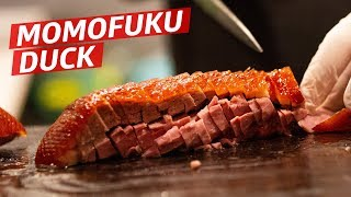 How Momofuku Makes Their Famous Roast Duck Ssam - Prime Time