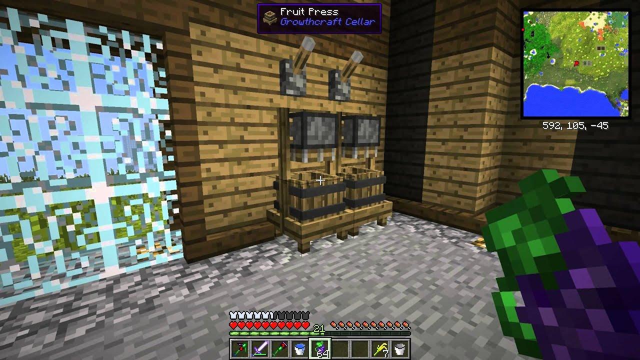 Minecraft FTB - HappyDiggers AMP - Growthcraft Spotlight - S2 Ep3