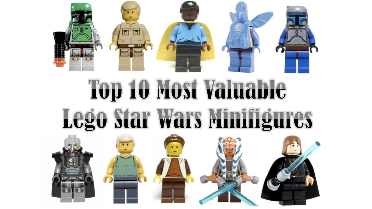 Top 10 Most Valuable/Rare Lego Star Wars Minifigures (2017 ...