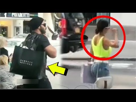Arjun Kapoor CUTE Moment Holding Malaika Arora Khan's Shopping Bags In New York Mp3