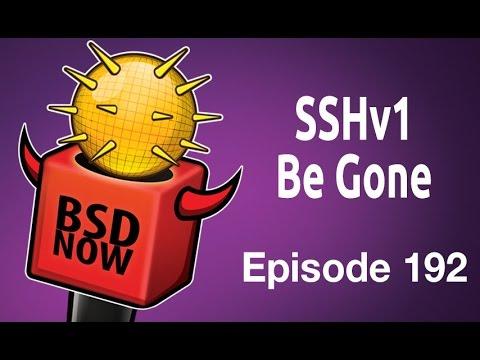 SSHv1 Be Gone | BSD Now 192