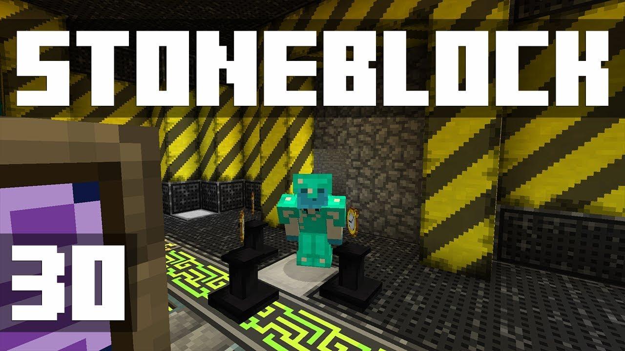 StoneBlock - Ep  30: SUPER OP! (Modded Minecraft 1 12 2) | iJevin