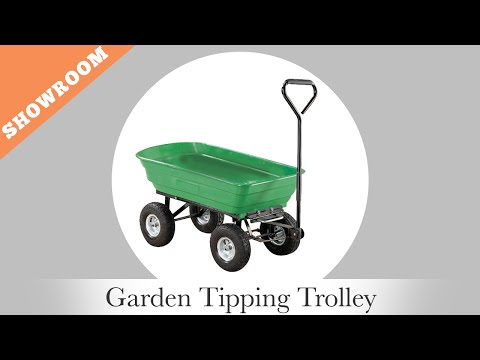 Oypla - Garden Tipping Cart
