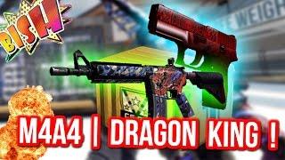 ВЫБИЛ M4A4 | DRAGON KING !!! - Казино в CS:GO #33 (Открытие Кейсов)