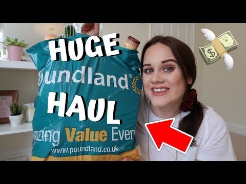 HUGE POUNDLAND HAUL 2019! WHATS NEW IN! *COLLAB WITH SOPHERINA*