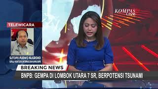 Gempa 7.0 SR Guncang Lombok, Nusa Tenggara Barat