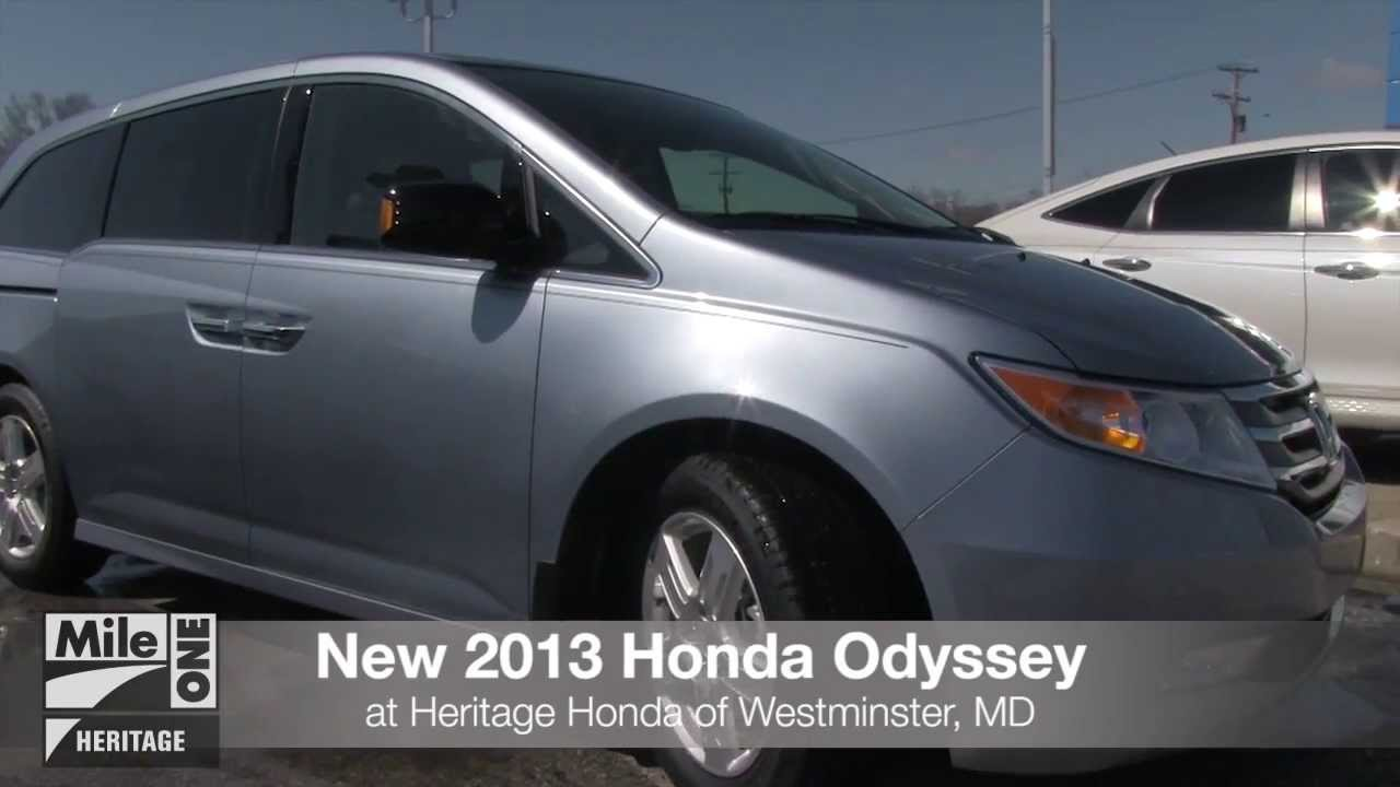 new 2013 honda odyssey video tour md honda dealer