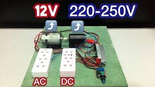 How to Make 220V Generator Dynamo at Home Using 775 Motor