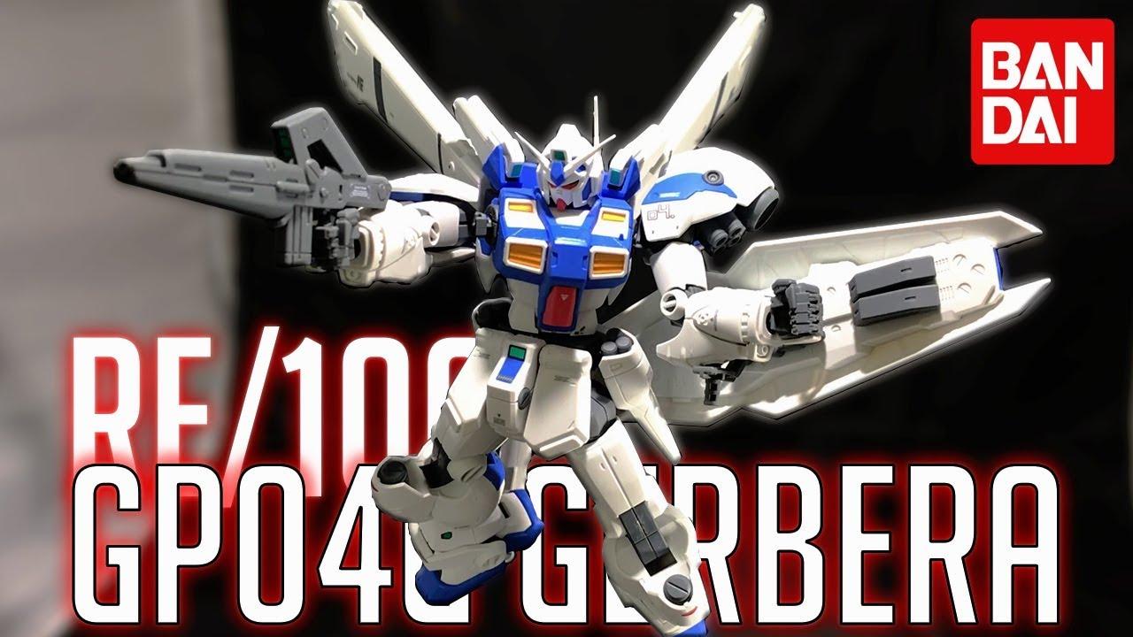 Gundam GP04 Gerbera GUNPLA RE Reborn-One Hundred 1//100 BANDAI