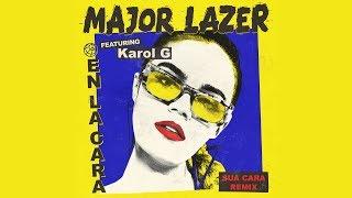 Major Lazer En La Cara Feat Karol G Sua Cara Remix Audio Oficial