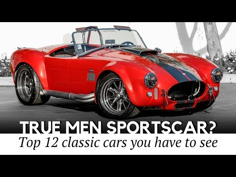 12 Classic Sports Cars That Turn Heads Better Than Newest Autos