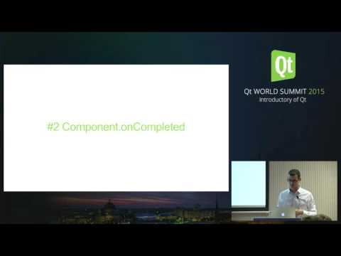 NEW -QtWS15 - The 8 mistakes of QtQuick newcomers, Luca Ottaviano, Develer Srl