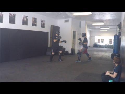 Krav Maga - Fight Class - October 21, 2017 (Offensive Switch Stance Transitions)