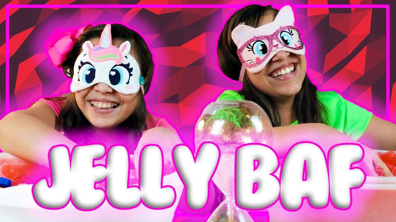 Juju & Gigi no divertido desafio Jelly Baff