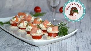 Lachshäppchen/ Fingerfood/ Party Snacks /von Purzel-cake