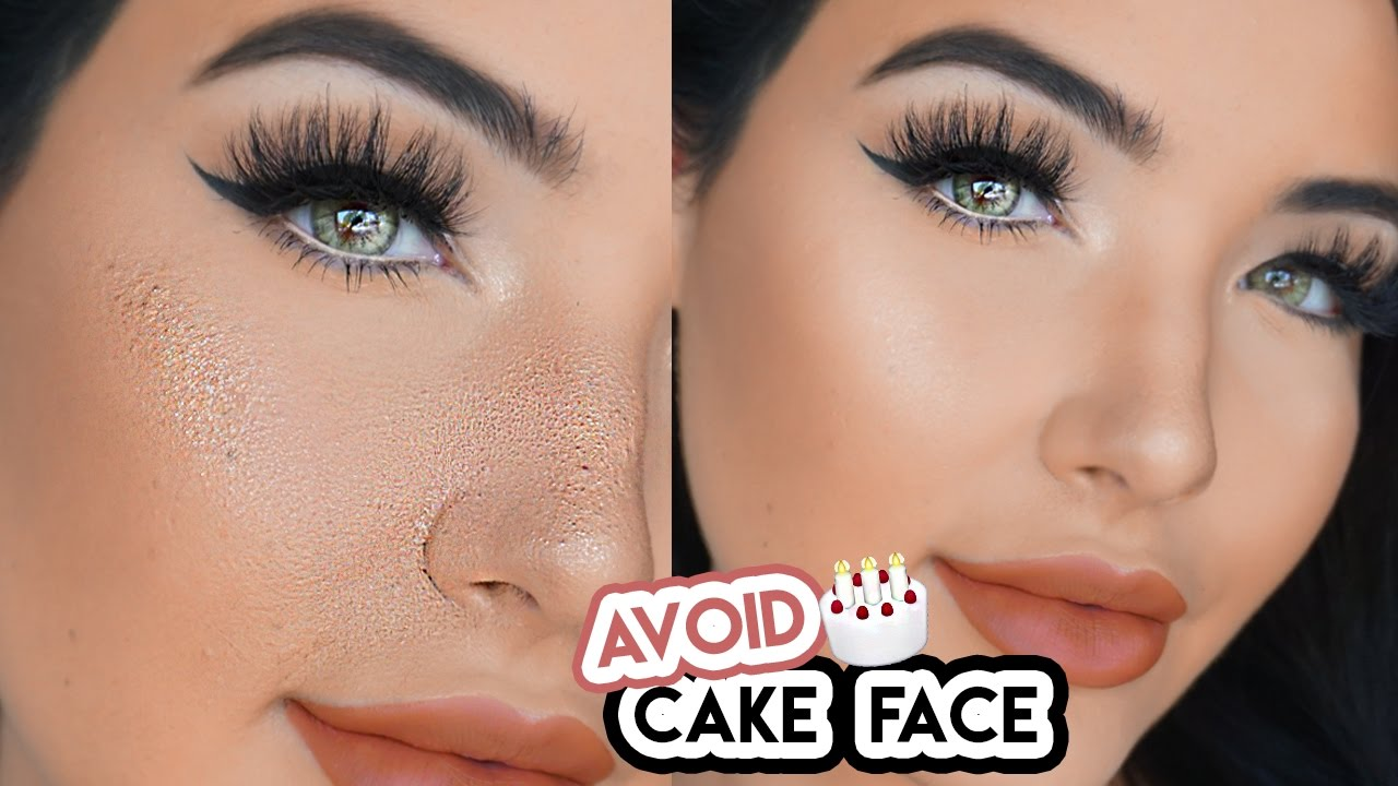 How to set foundation without looking cakey
