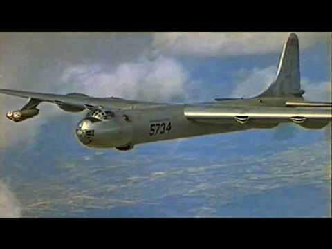 The amazing Convair B-36 Peacemaker takes off