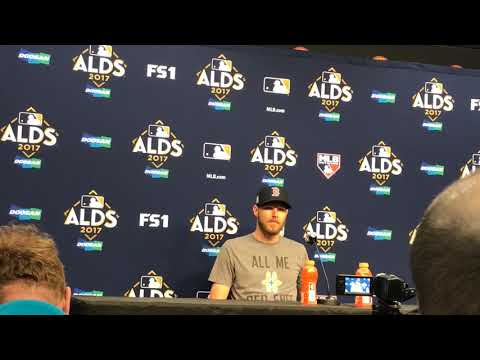 Chris Sale, Red Sox Game 1 ALDS starter, ready for first playoff start