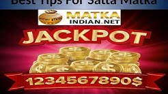 Best Indian Matka online Game Tips for Satta  Matka Result