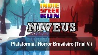 Niveus Gameplay - Terror / Plataforma / Experimental Brasileiro (Indie Speed Run 2013 / V. Trial)
