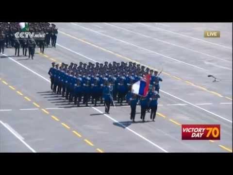 Србија и Русија -  Војна парада Пекинг