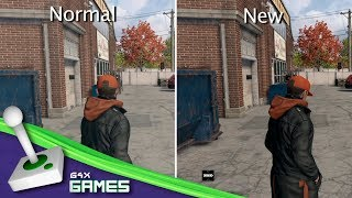 watch dogs ps4 how to upgrade graphics also on xbox one