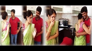 Arun & Sanjana Real Couple_ Sethupathi Love Scene Super HD Dubsmash