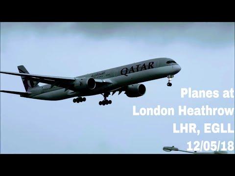 7 Hour Planespotting at London Heathrow, LHR | 12/05/18