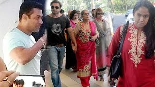 Repeat youtube video Spotted: Salman Khan Leaves Mumbai To Attend Sister Arpita's Wedding