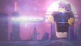 Playing sum Roblox - K.Y Productions
