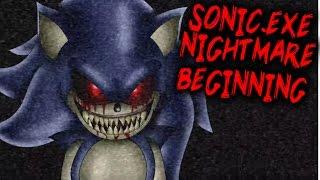 SONIC.EXE NIGHTMARE BEGINNING [NEW SONIC THE HEDGEHOG HORROR GAME]