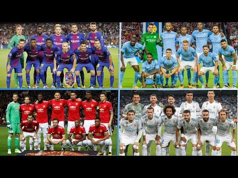 Top 20 Most Expensive  Squads In The World For Season  2017/18