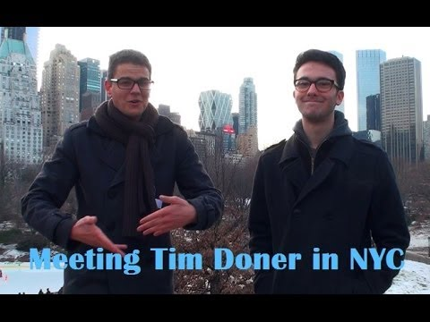 Meeting Teenage Polyglot Tim Doner in New York