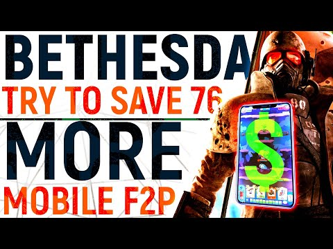 Bethesda's Plan To SAVE Fallout 76, Double Down On MOBILE F2P, NEW Game Reveals   E3