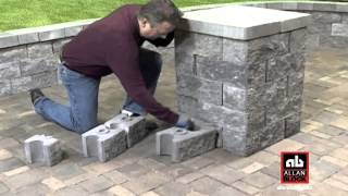 How To Build A Seating Wall Starting At Post/pillar