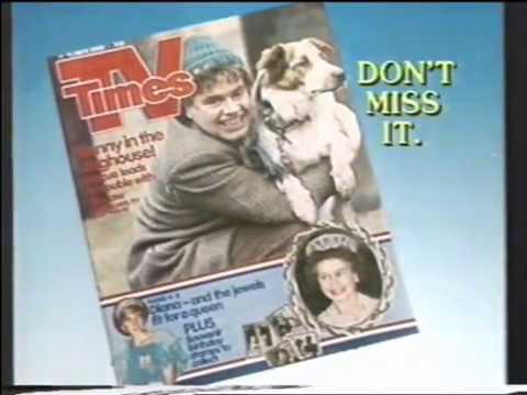TV Times Advert c.1986