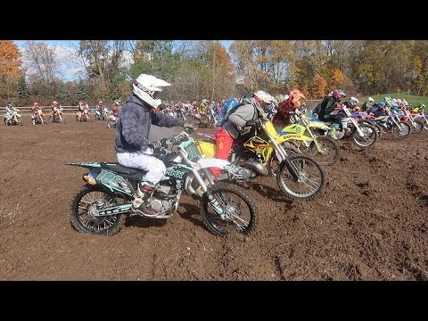 FIRST RACE IN 2 YEARS!!!  HARE-SCRAMBLE RACING SHENANIGANS