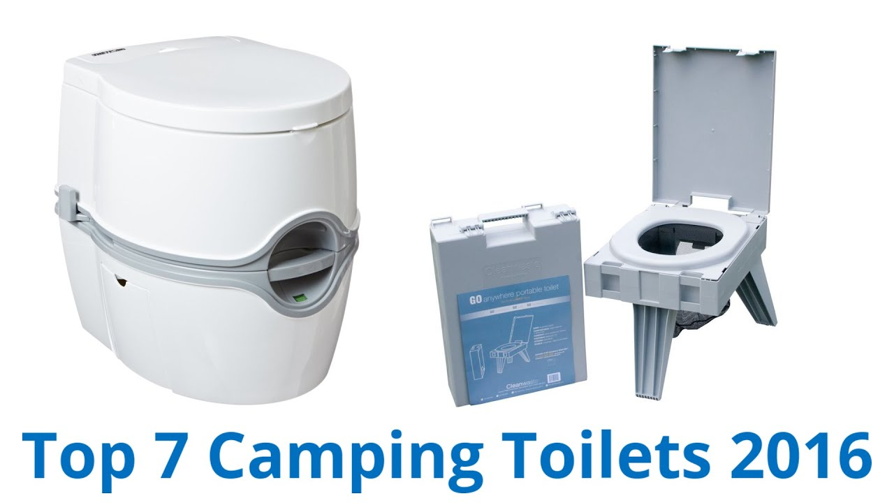 7 Best Camping Toilets 2016 - YouTube