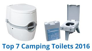 7 Best Camping Toilets 2016