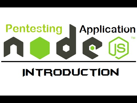 1. node web server - Introduction