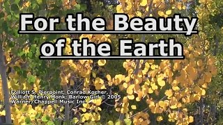 For the Beauty of the Earth - BarlowGirl - Lyrics