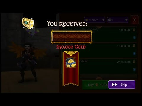 LOOTED 250K! Arcane Legends Sir Spendalot Part 3