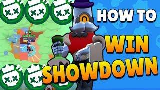 Brawl Stars | HOW TO WIN SHOWDOWN! Best Showdown Tips and Tricks for Beginners - Barley Strategy!