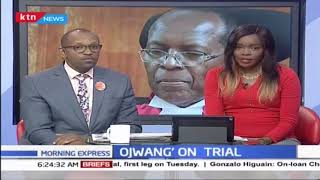 Ojwang on Trial: All set as members of tribunal to probe Justice Ojwang sworn