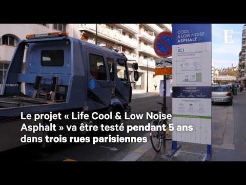 Paris teste des rues moins bruyantes et moins chaudes