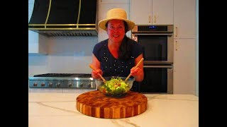 VEGETARIAN CHOPPED SALAD in 10 Minutes   Learn how to make CHOPPED SALAD