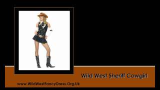 Cowboy And Cowgirl Fancy Dress