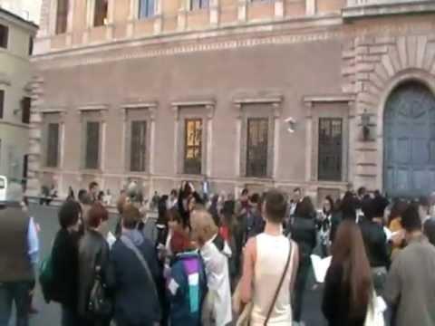 Flashbookmob a Roma - Agenzia il Segnalibro