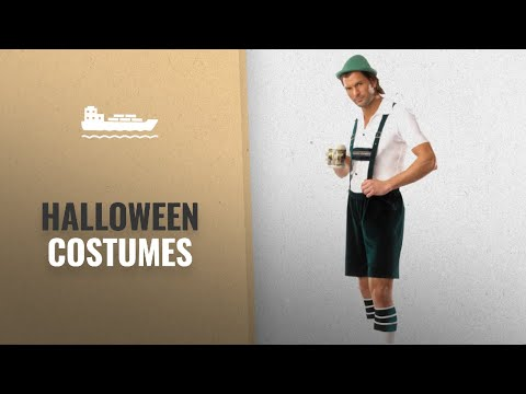Coquette Men Halloween Costumes [2018]: Coquette Men's Beer Guy, Green/White, Small/Medium