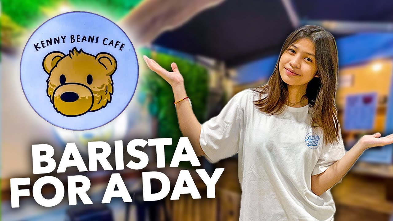 BARISTA FOR A DAY!! ( nagfeeling barista hahaha) | Chelseah Hilary